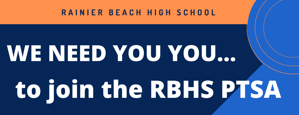 we need you to join the RBHS PTSA